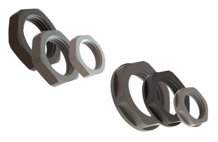 Lock nuts polyamide