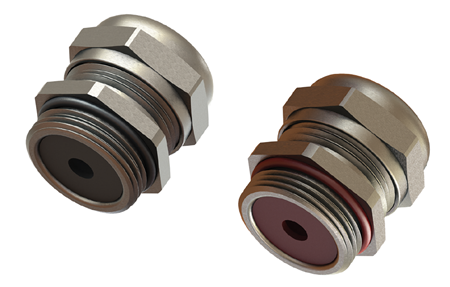 Double seal cable glands