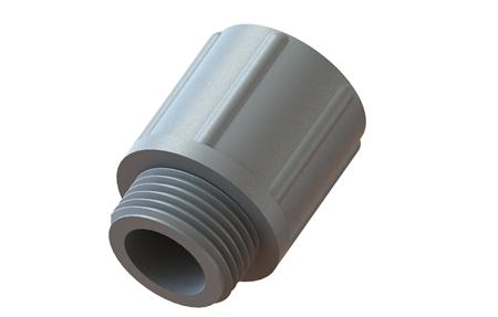 Straight conduit fittings polyamide